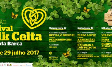 10º Festival Folk Celta com cartaz completo