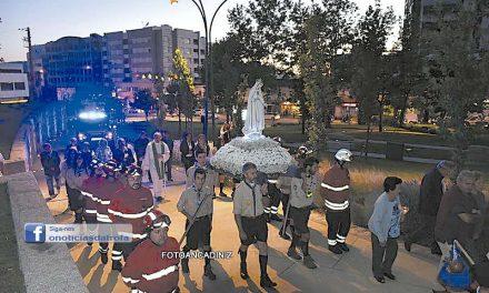 25.º aniversário do monumento  do Sagrado Coração de Maria atraiu fiéis