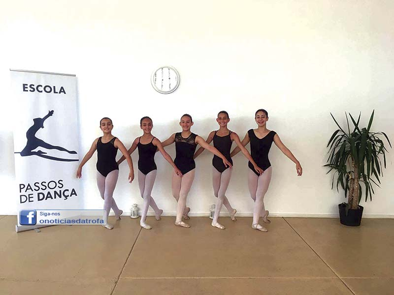 Bailarinas da Passos de Dança nomeadas para competição internacional
