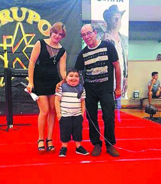 Concerto solidário  rendeu 1200 euros  para Eduardo
