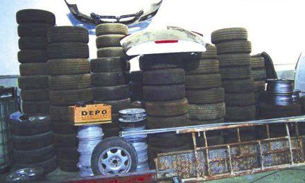 Detidos por tráfico de estupefacientes e furto qualificado