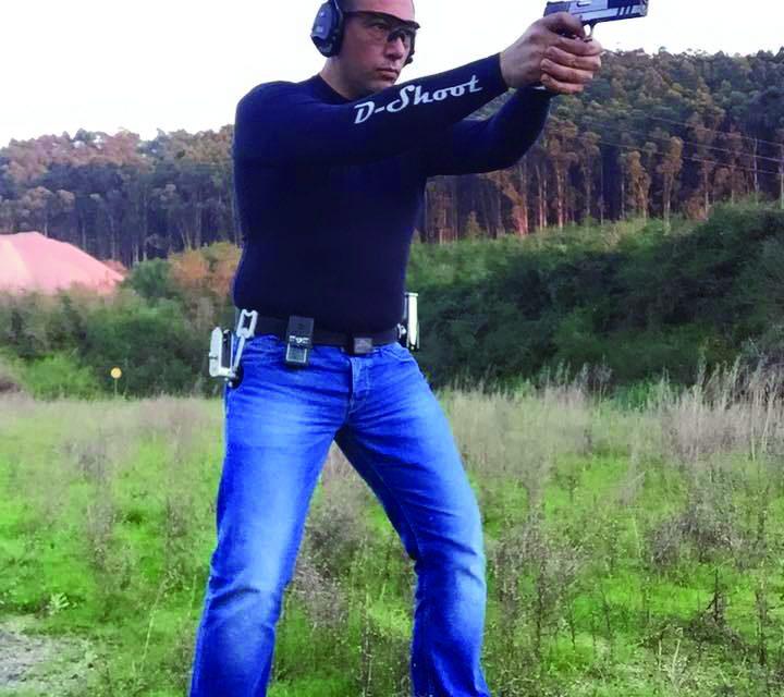 Luís Costa é campeão  Nacional em tiro dinâmico