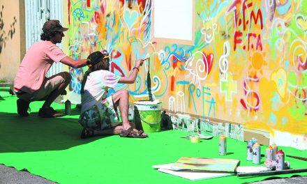 Mural Comunitário vai ganhar forma no quartel dos Bombeiros