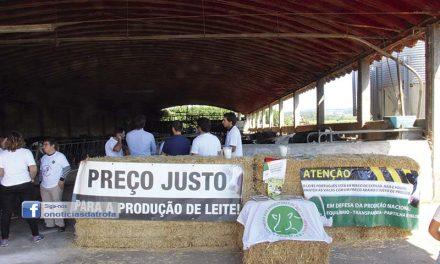 Produtores reclamam preço do leite