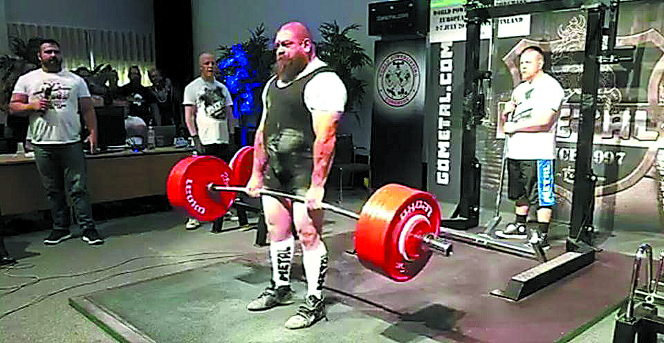Trofenses no Europeu de Powerlifting