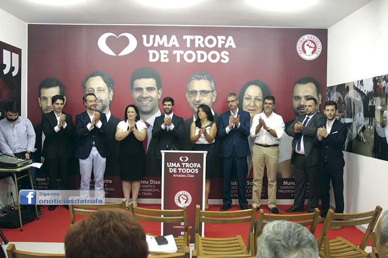 PS apresenta candidatos  à Assembleia Municipal e às freguesias