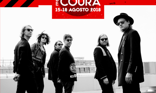 Arcade Fire no Festival Vodafone Paredes de Coura