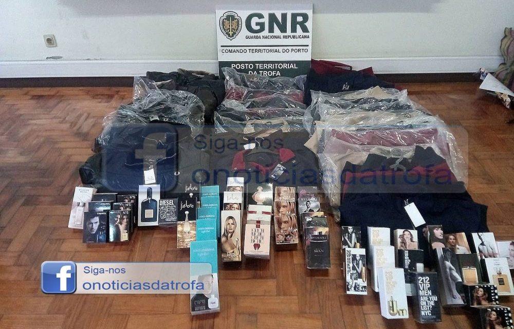 GNR da Trofa apreende material contrafeito em Alvarelhos