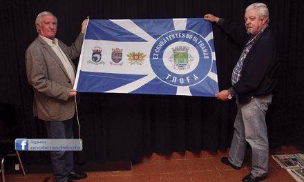 Bandeira para homenagear ex-combatentes