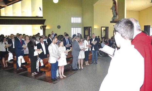 Paróquia celebrou bodas matrimoniais