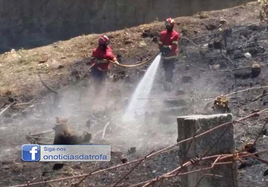 Incêndio em Lantemil