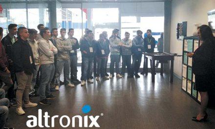 Estudantes do CENFIM visitaram Altronix e Bial