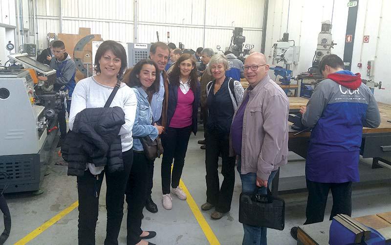 CIOR recebeu professores de escolas de França e do Chipre