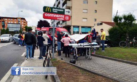 Motociclista ferido em acidente na EN104