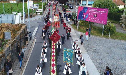 Paróquias de Bougado unidas na procissão do Corpo de Deus (c/ vídeo)