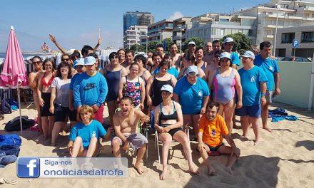 Utentes da APPACDM aproveitam o verão na praia (c/ vídeo)