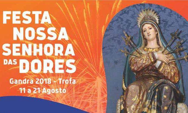 Festa de Nossa Senhora das Dores anima cidade de 11 a 21 de agosto
