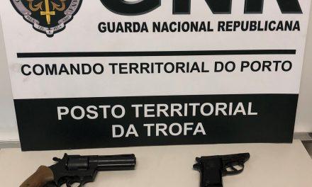 GNR da Trofa apreendeu  armas de fogo