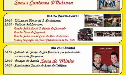 Festas em Honra de S. Bartolomeu em S.Romão do Coronado