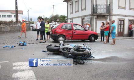 Motociclista ferido no Muro, Trofa – Video