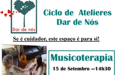 Musicoterapia para cuidadores a 15 de setembro
