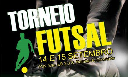 GD Covelas promove torneio  de futsal