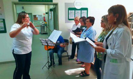 Coro do ACES dá música nos centros de saúde