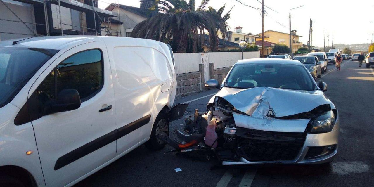 4 feridos em acidente em S. Romão