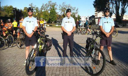 Clubes e grupos de cicloturismo, BTT  e ciclismo da Trofa doam bicicletas à GNR