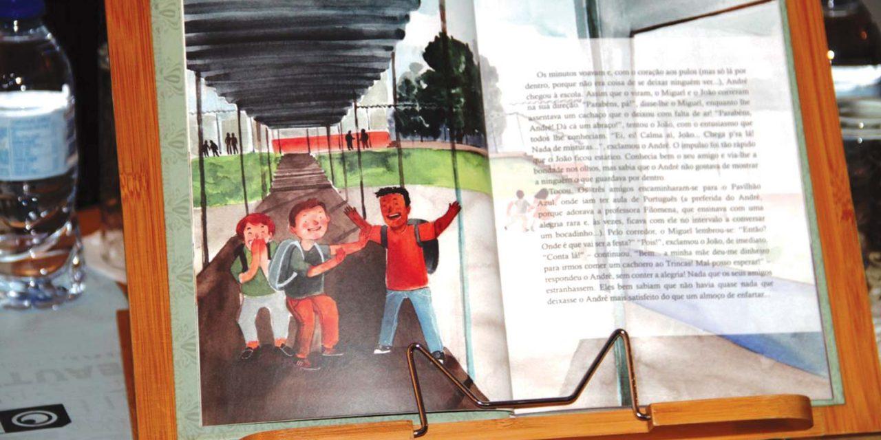 Ana Luísa Oliveira ilustra história infantil que fala das emoções