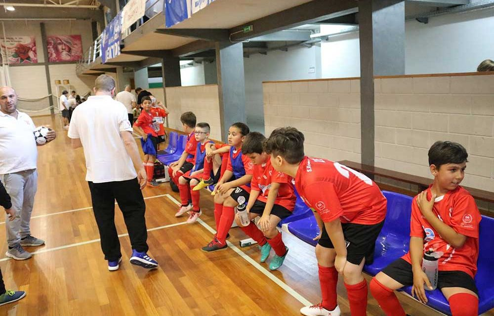 130 praticam futsal em S. Romão