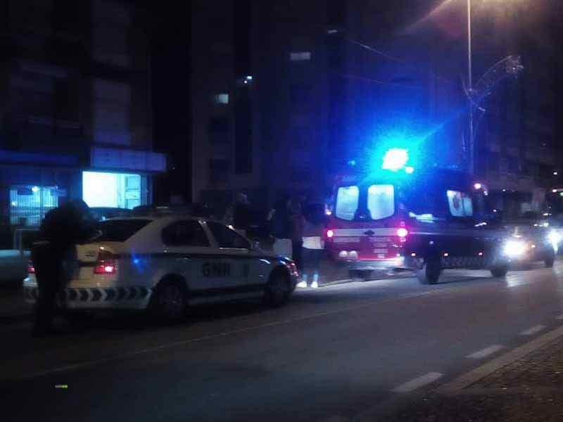 Atropelamento na Rua Infante D. Henrique