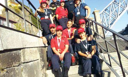 Nove voluntários da Trofa testam limites no Bombeiro de Ferro