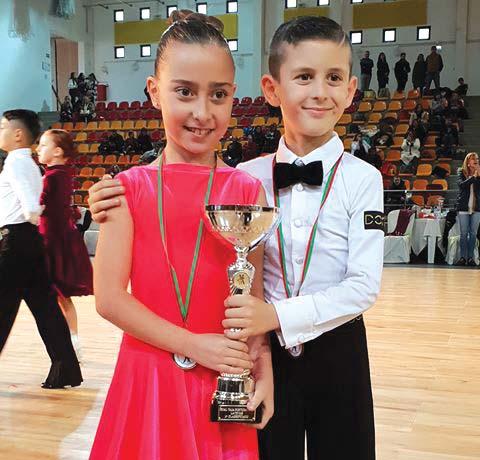 Trofa tem campeão de danças de salão