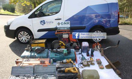 Última hora: GNR recupera material furtado de armazém da Câmara Municipal