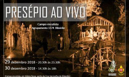 Presépio ao vivo em Ribeirão