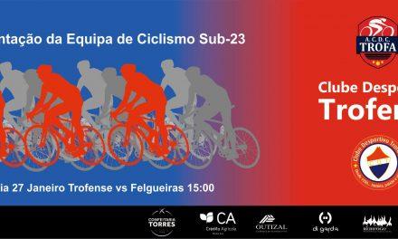 Equipa de ciclismo ACDC Trofense apresentada este domingo
