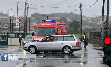 Ambulância colidiu com viatura no Coronado