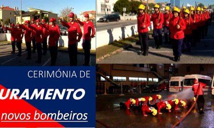 Novos bombeiros da Trofa fazem juramento sexta feira