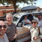 Jipe conduzido por padre Luciano Lagoa já chegou à Guiné-Bissau, para ajudar Diocese de Bafatá