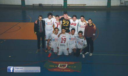 Juniores do CR Bougado campeões de série