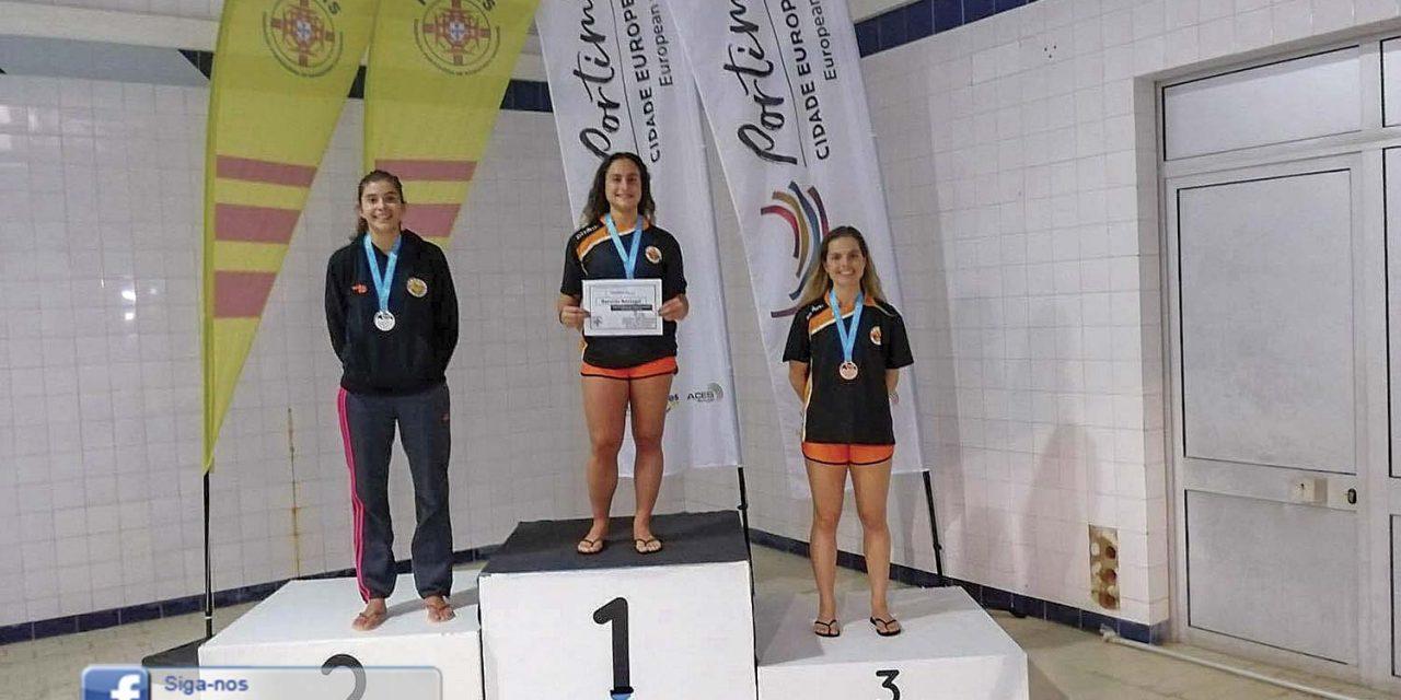 Susana Cruz  com recorde nacional no Salvamento Aquático
