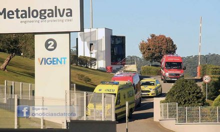 Acidente de trabalho faz três feridos na Metalogalva