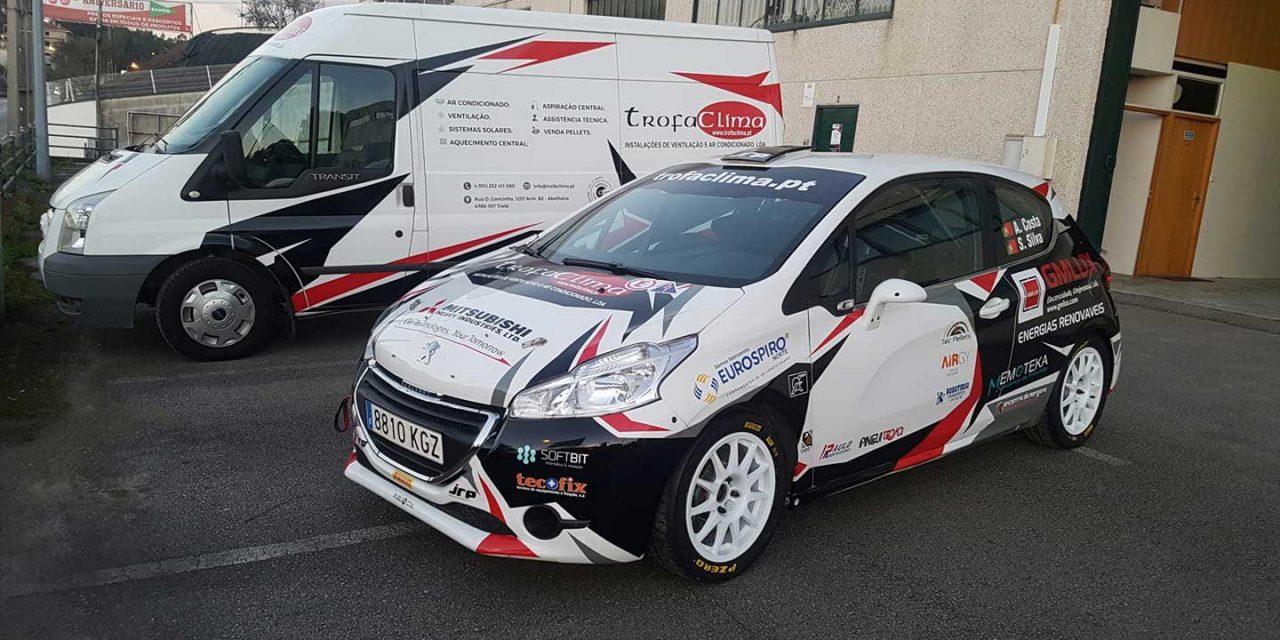 TrofaClima Rally Team estreia novo carro em Ourém