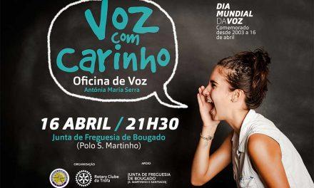 Maestrina Antónia Serra realiza Oficina de Voz a 16 de abril
