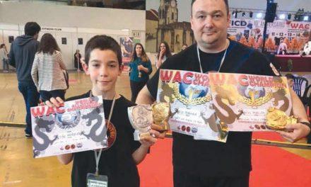 Dionísio Moreira campeão mundial