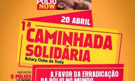 Rotary promove caminhada solidária para combater poliomielite