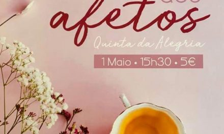 Chá dos Afetos solidário com APPACDM