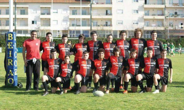 Sub-14 da Escolinha de Rugby em 3.º em Torneio Inter-Regional
