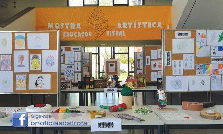 Mostra artística na Escola Secundária